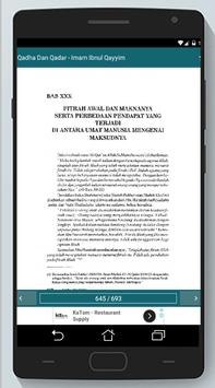 Qadha Dan Qadar - Imam Ibnul Qayyim screenshot 23
