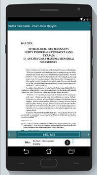Qadha Dan Qadar - Imam Ibnul Qayyim screenshot 7
