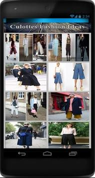 Culottes Fashion Ideas apk screenshot