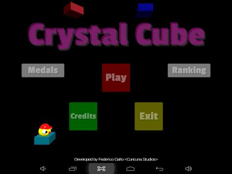 Crystal Cube poster
