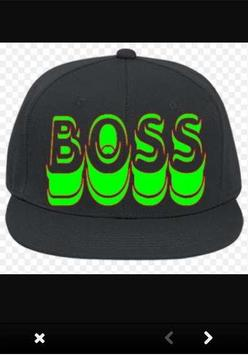 Custom Hat Designs poster
