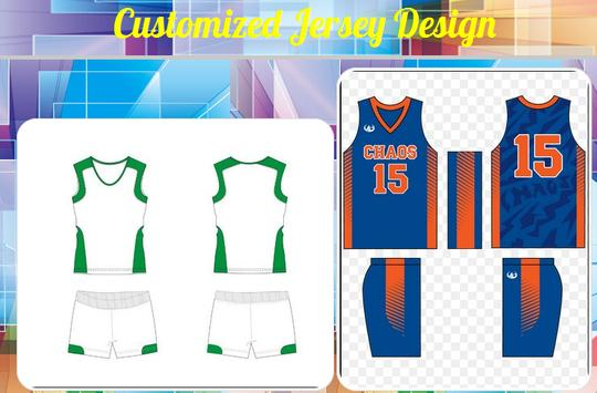 Customized Jersey Design poster