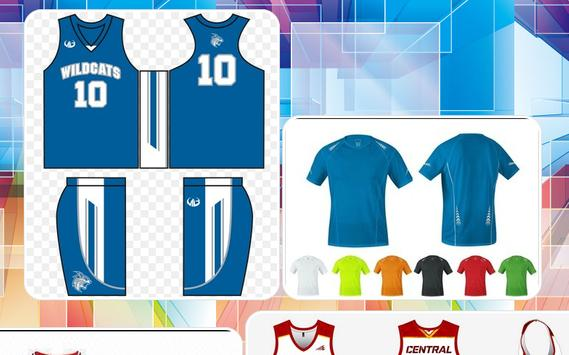 Customized Jersey Design apk screenshot