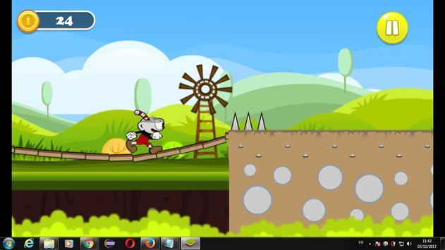 .    Subway CupHead run adventure apk screenshot