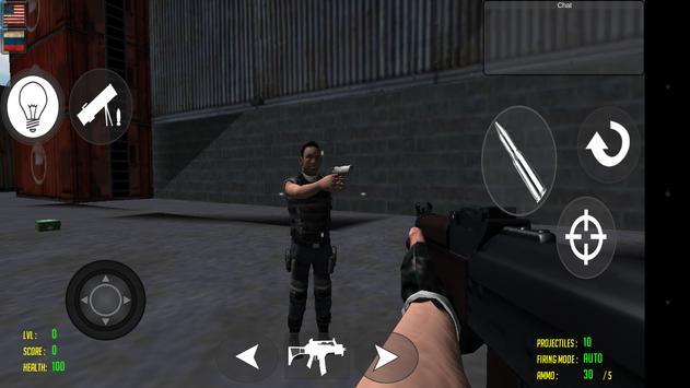 Duty War Multiplayer apk screenshot