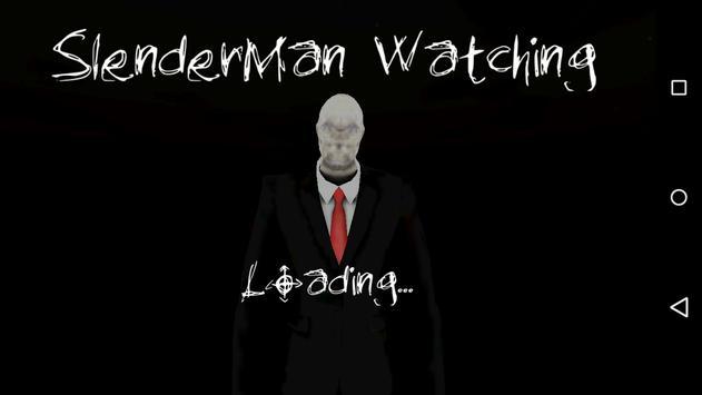 Slenderman Watching poster