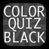 Color Quiz Black icon