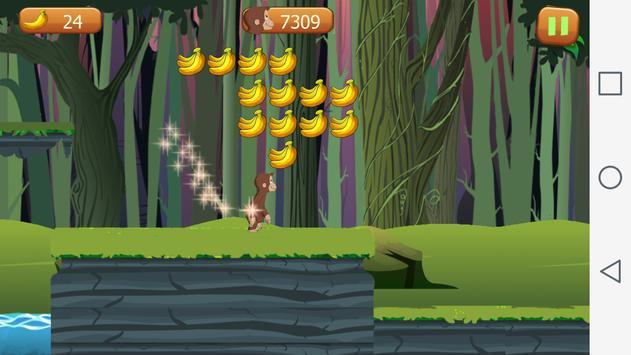 Curious Jungle George Adventure World Monkey screenshot 5