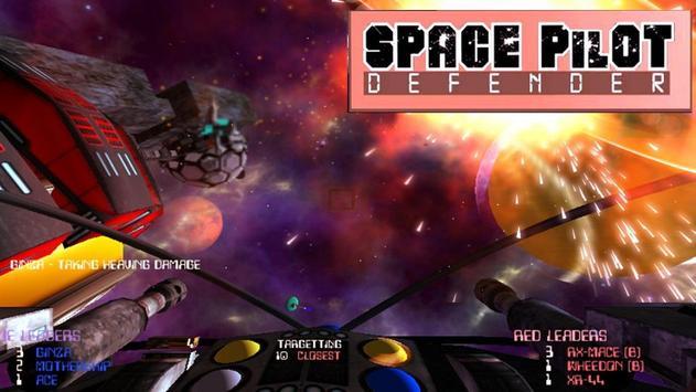 Space Pilot Defender poster