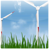 Wind Turbines Live HD+ icon