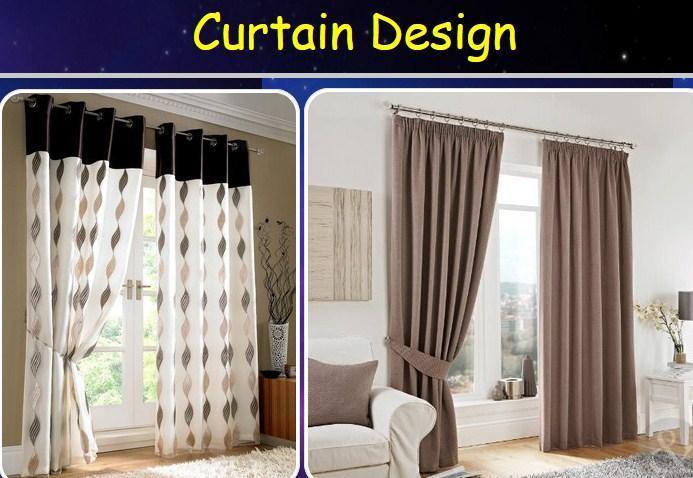 Curtain Design poster
