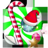 Christmas Deco Stickers App icon
