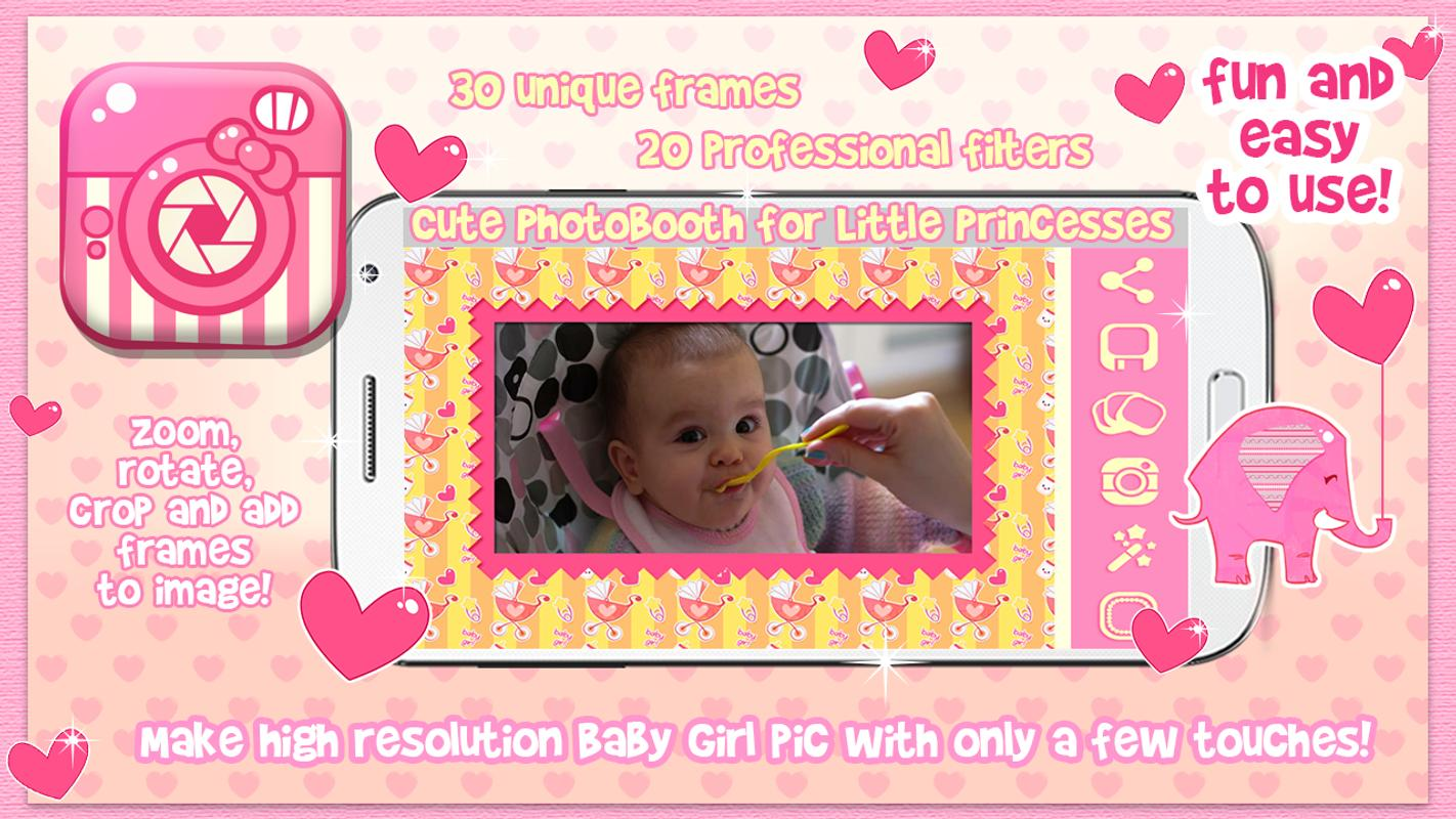 Cute Baby Girl Picture Frames For Android Apk Download