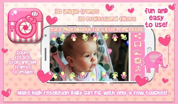 Cute Baby Girl Picture Frames apk screenshot