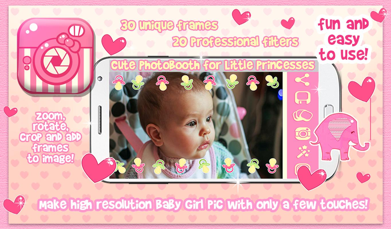 Cute Baby Girl Picture Frames APK Download - Free Photography APP ...