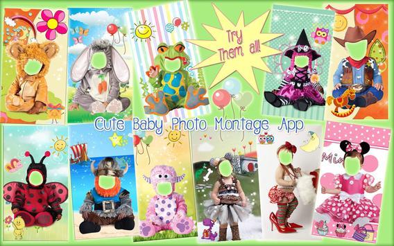 Editor de Fotos de Bebé 👶 Montajes para Bebés captura de pantalla 10