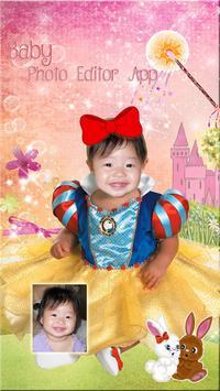 Editor de Fotos de Bebé 👶 Montajes para Bebés captura de pantalla 5