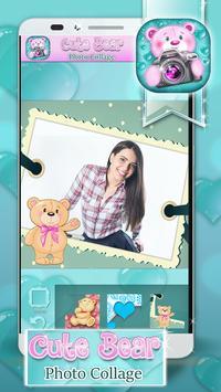 Cute Bear Photo Collage apk screenshot