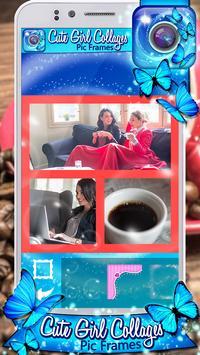 Cute Girl Collages Pic Frames apk screenshot