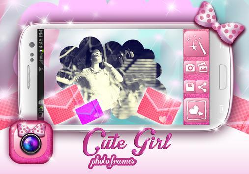 Cute Girly Photo Frames screenshot 1