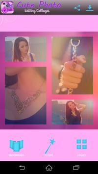 Cute Photo Editing Collages apk screenshot