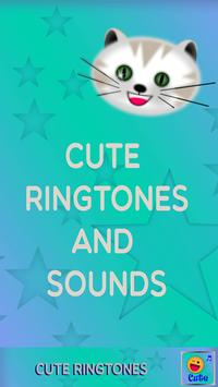 Cute Ringtones and Sounds poster
