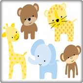 Cute Animal Baby Onet Game icon