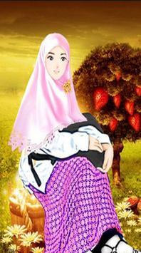 Cute Anime Hijab Wallpaper HD apk screenshot