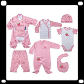 Cute Baby Clothes icon