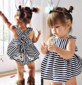 Cute Baby Dress Style poster