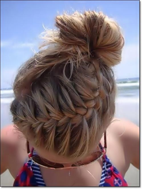 Cute Bun Hairstyles Ideas For Android Apk Download