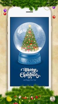 Cute Christmas Live Wallpaper apk screenshot