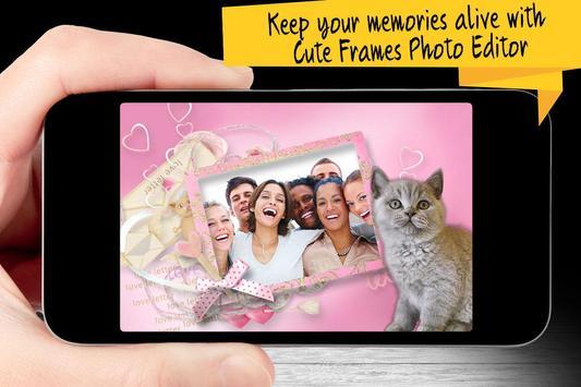 Cute Frames Photo Editor apk screenshot