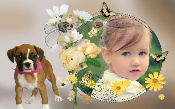 Cute Frames Photo Editor apk screenshot