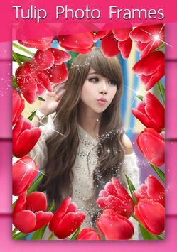 กรอบรูปใหม่ล่าสุด กรอบรูปดอกไม้ กรอบรูปดอกทิวลิป screenshot 5