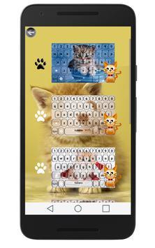 Cute Kitty Keyboard apk screenshot