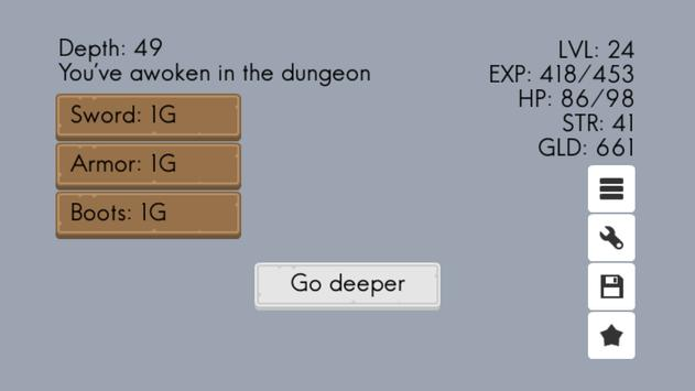 Endless Dungeon apk screenshot