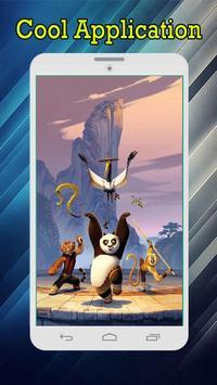 Cute Panda Cartoon Wallpaper screenshot 1