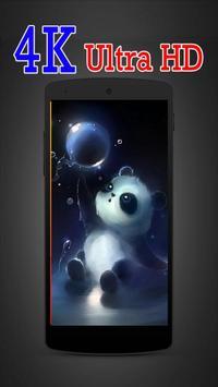 Cute Panda Cartoon Wallpaper screenshot 2