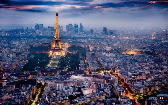 Cute Paris Live Wallpaper screenshot 1