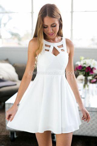 5fb9a637c ... Lindos Vestidos Blancos Cortos captura de pantalla 4 ...