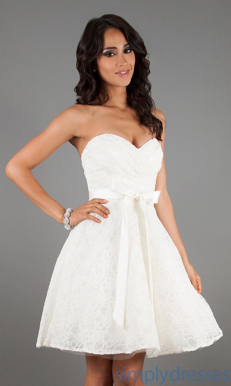 b5cdbf304 ... 4 Lindos Vestidos Blancos Cortos captura de pantalla 5 ...