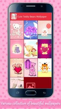 Cute Teddy Bears Wallpaper Apk Screenshot