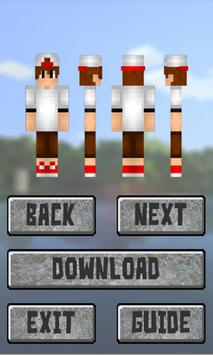 New Boys Skins for Minecraft: Pocket Edition poster