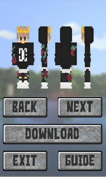 New Boys Skins for Minecraft: Pocket Edition screenshot 2