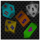 D&D 3D Dice Simulator icon