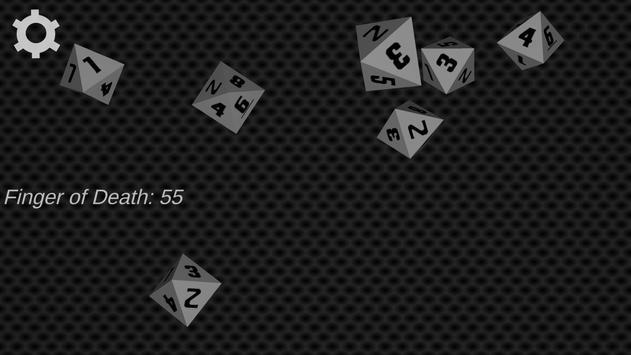 D&D 3D Dice Simulator screenshot 1