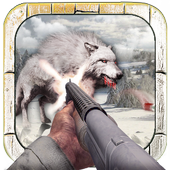 Wild Wolf Hunter Simulator icon