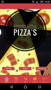 Daddy's Little Pizzas poster