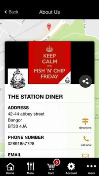 The Station Diner Bangor apk screenshot